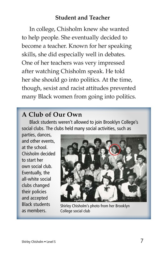 Book Preview For Shirley Chisholm Page 7