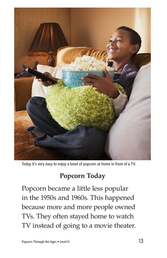 Book Preview For Popcorn Through the Ages Page 13
