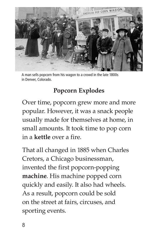 Book Preview For Popcorn Through the Ages Page 8