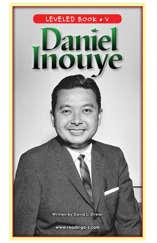 Book Preview For Daniel Inouye Page 0