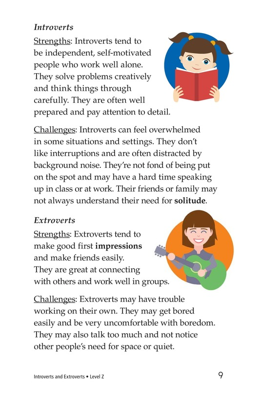Book Preview For Introverts and Extroverts Page 9