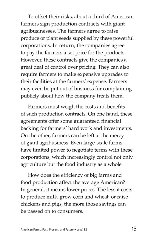 Book Preview For American Farms: Past, Present, and Future Page 15