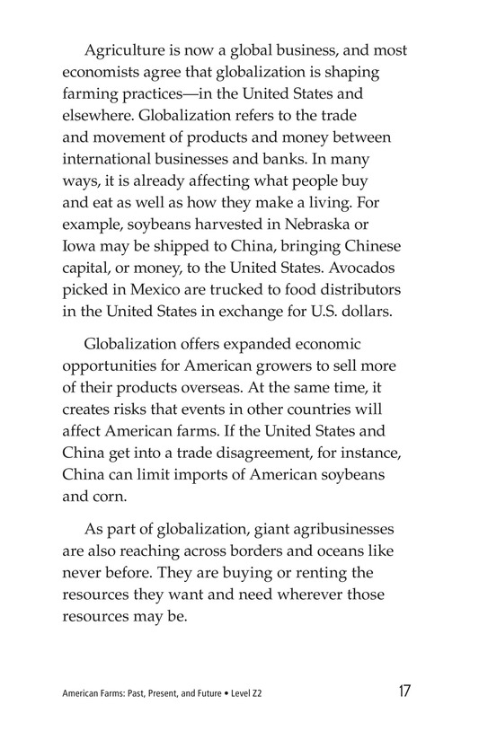 Book Preview For American Farms: Past, Present, and Future Page 17