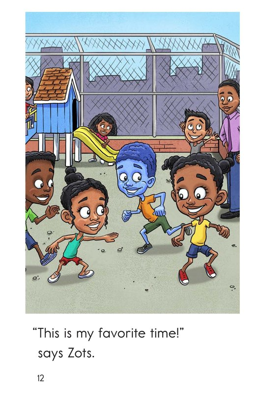Book Preview For Zots Goes to School Page 12