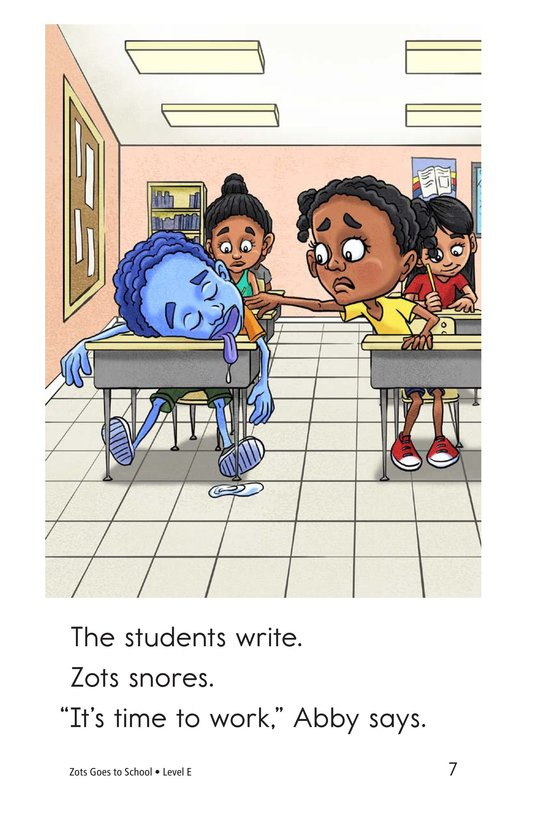 Book Preview For Zots Goes to School Page 7