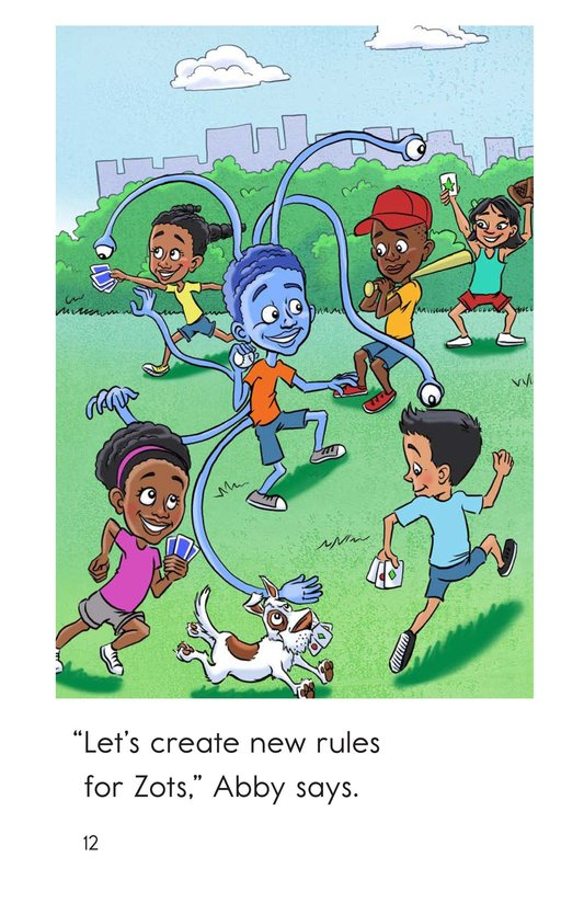 Book Preview For Zots Learns to Play Page 12