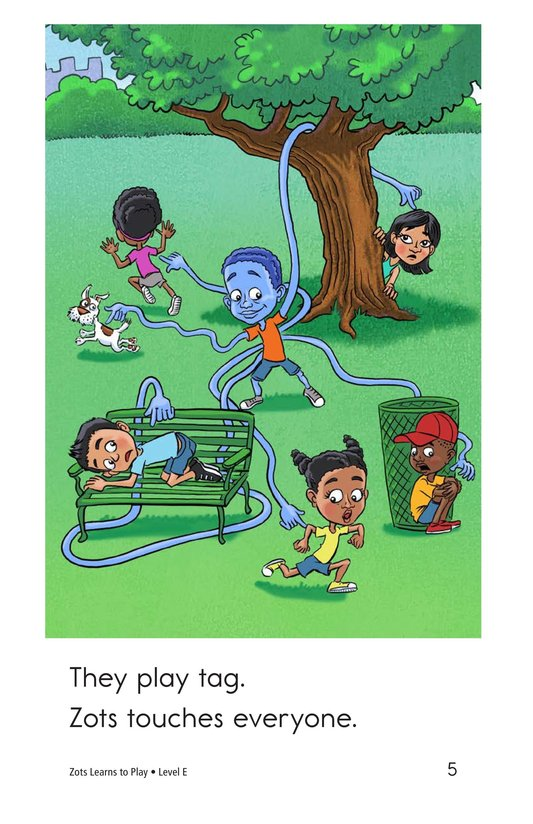 Book Preview For Zots Learns to Play Page 5