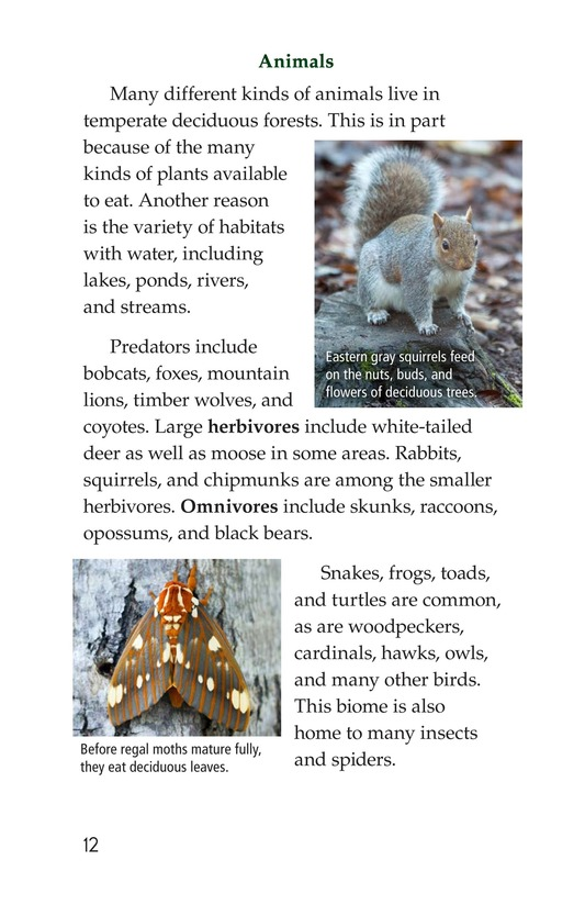 Book Preview For Temperate Deciduous Forests Page 12