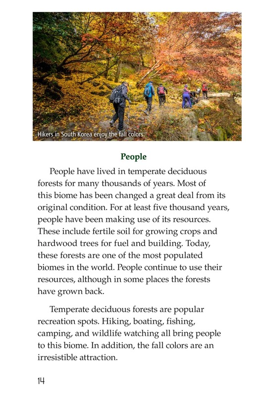 Book Preview For Temperate Deciduous Forests Page 14