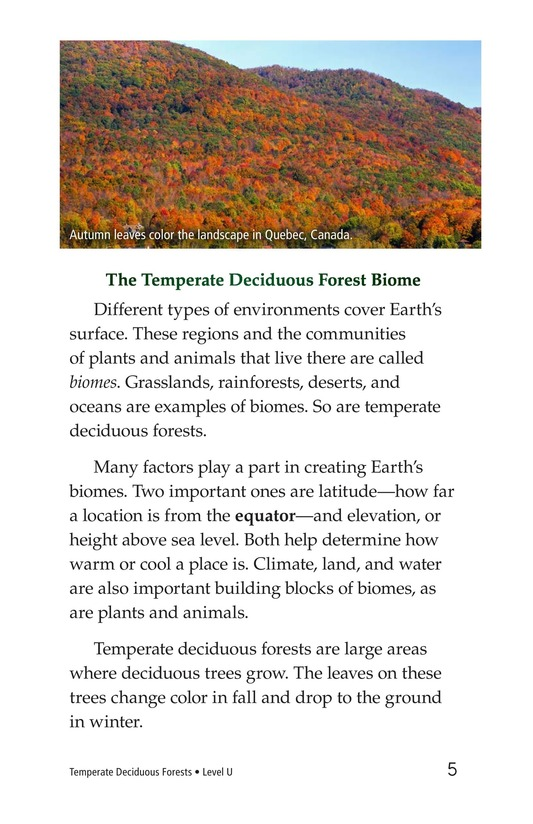 Book Preview For Temperate Deciduous Forests Page 5