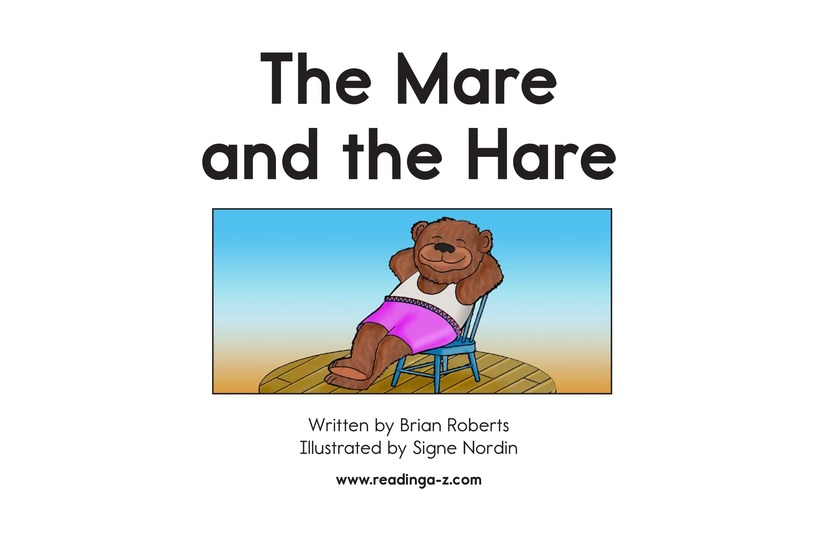 Book Preview For The Mare and the Hare Page 2