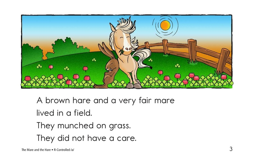 Book Preview For The Mare and the Hare Page 3