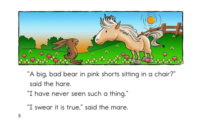 Book Preview For The Mare and the Hare Page 8