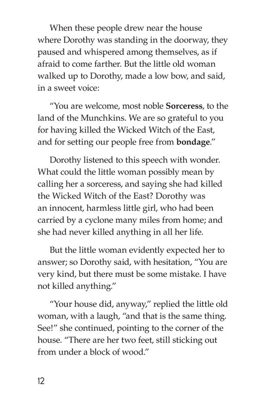 Book Preview For The Wonderful Wizard of Oz (Part 1) Page 12