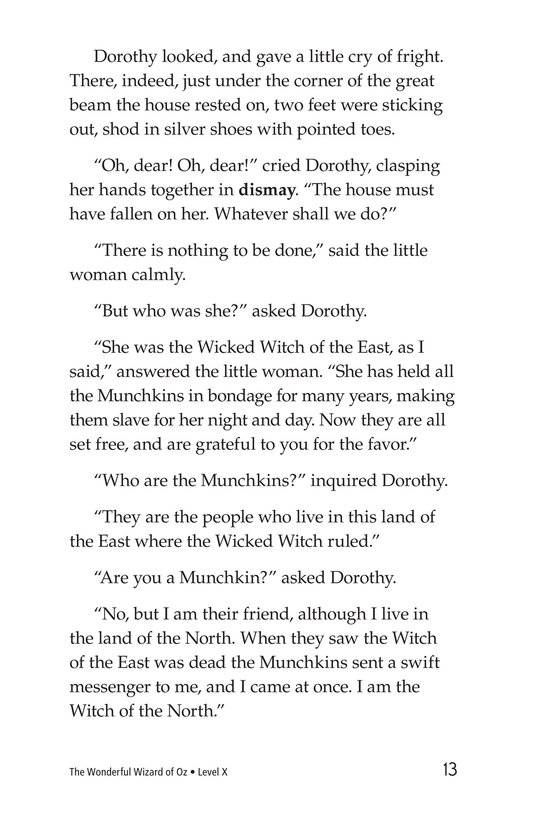 Book Preview For The Wonderful Wizard of Oz (Part 1) Page 13