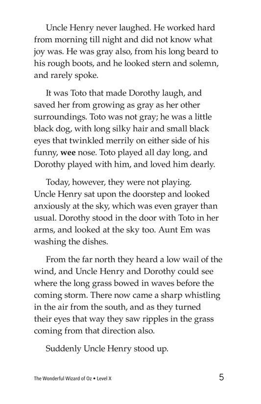 Book Preview For The Wonderful Wizard of Oz (Part 1) Page 5