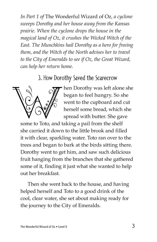 Book Preview For The Wonderful Wizard of Oz (Part 2) Page 3