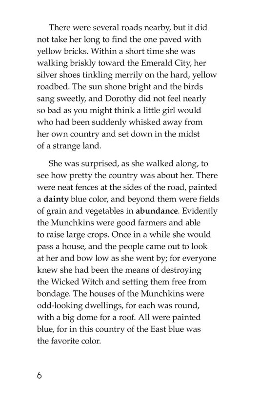 Book Preview For The Wonderful Wizard of Oz (Part 2) Page 6