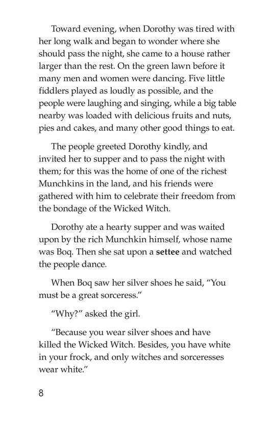 Book Preview For The Wonderful Wizard of Oz (Part 2) Page 8