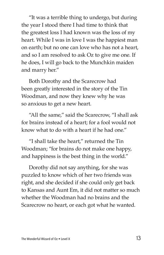 Book Preview For The Wonderful Wizard of Oz (Part 3) Page 13