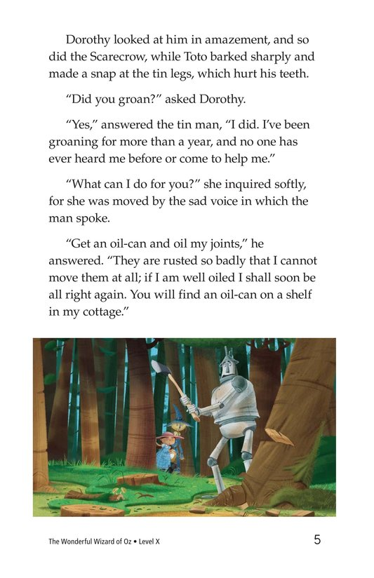 Book Preview For The Wonderful Wizard of Oz (Part 3) Page 5