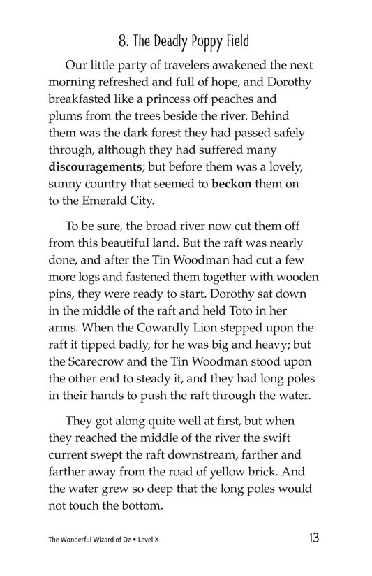 Book Preview For The Wonderful Wizard of Oz (Part 4) Page 13