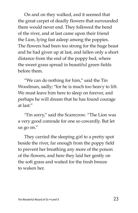 Book Preview For The Wonderful Wizard of Oz (Part 4) Page 23