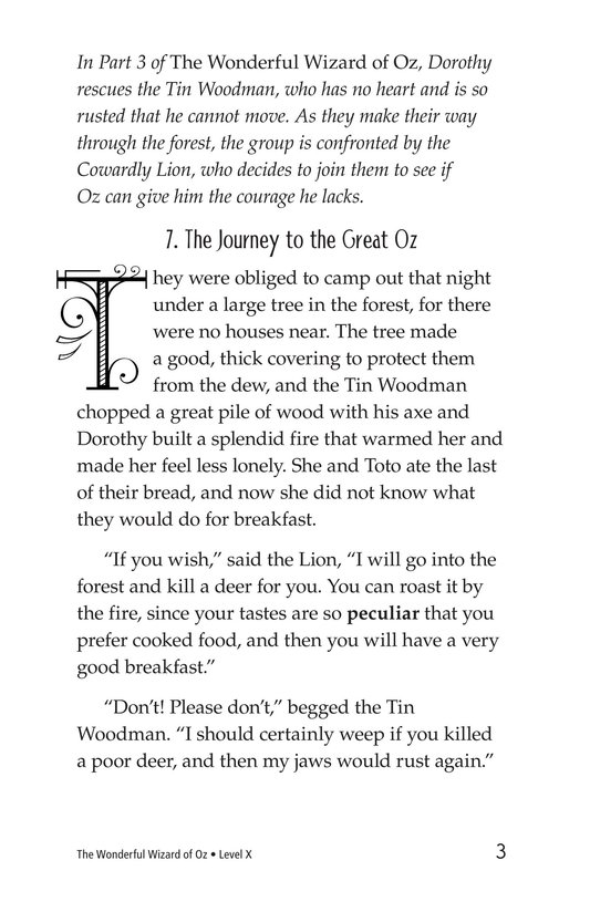 Book Preview For The Wonderful Wizard of Oz (Part 4) Page 3