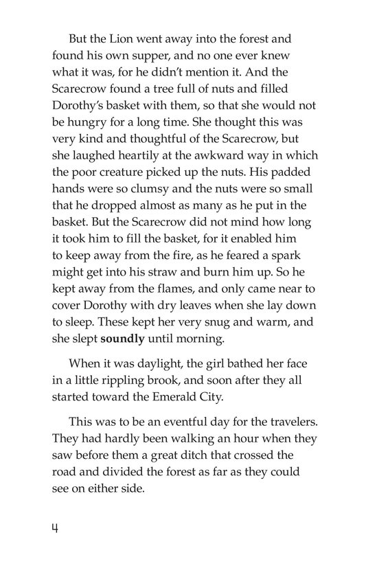 Book Preview For The Wonderful Wizard of Oz (Part 4) Page 4