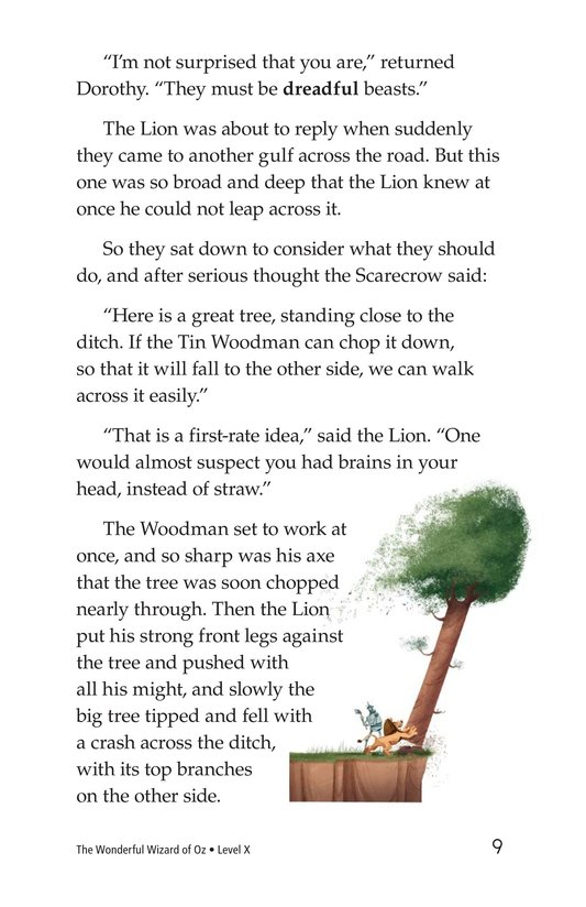 Book Preview For The Wonderful Wizard of Oz (Part 4) Page 9