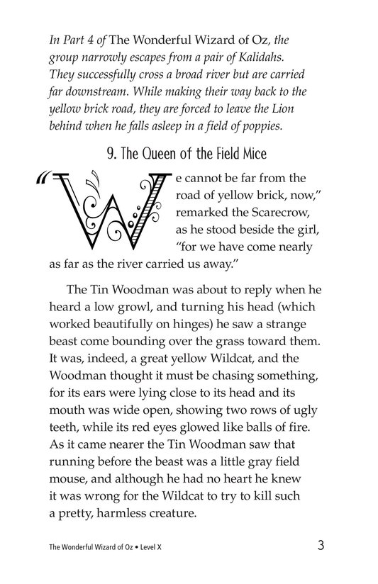 Book Preview For The Wonderful Wizard of Oz (Part 5) Page 3