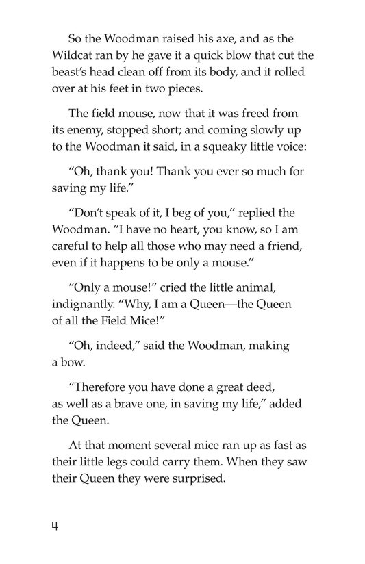 Book Preview For The Wonderful Wizard of Oz (Part 5) Page 4