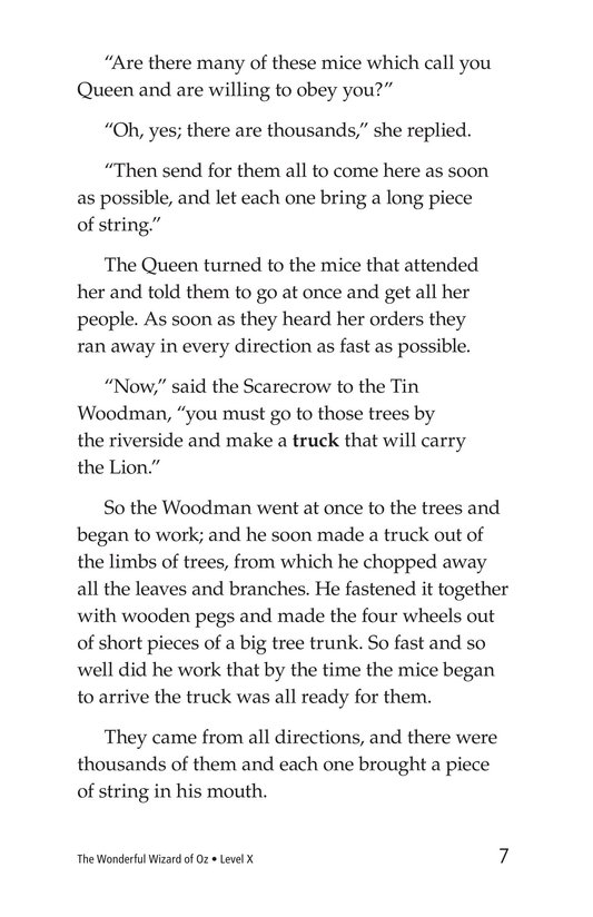 Book Preview For The Wonderful Wizard of Oz (Part 5) Page 7