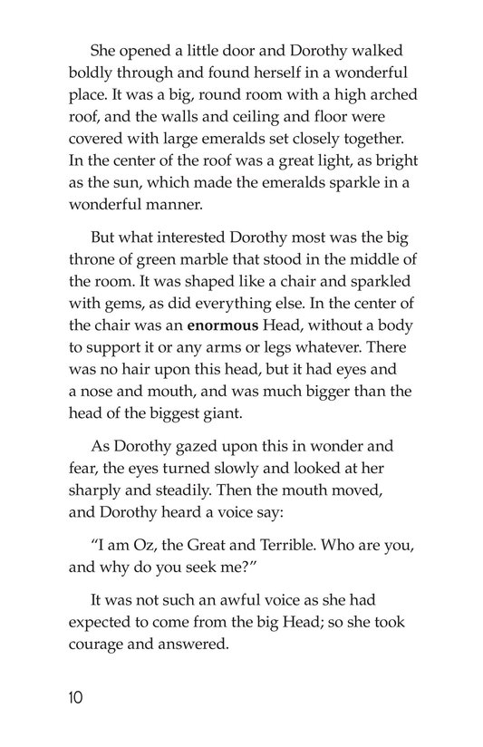 Book Preview For The Wonderful Wizard of Oz (Part 6) Page 10