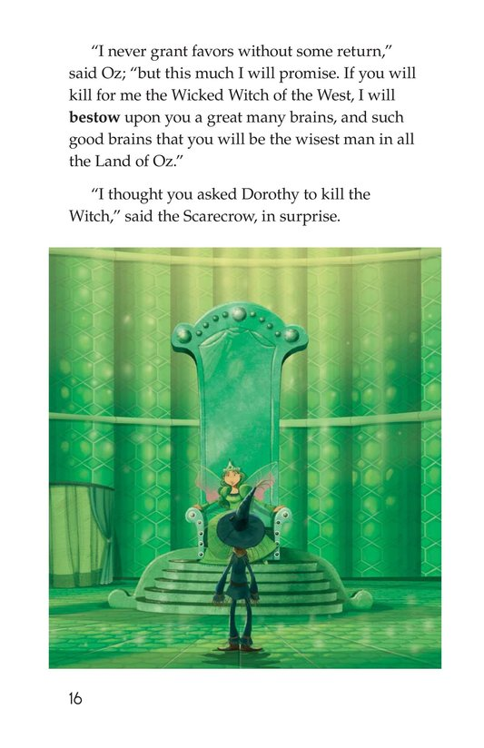 Book Preview For The Wonderful Wizard of Oz (Part 6) Page 16