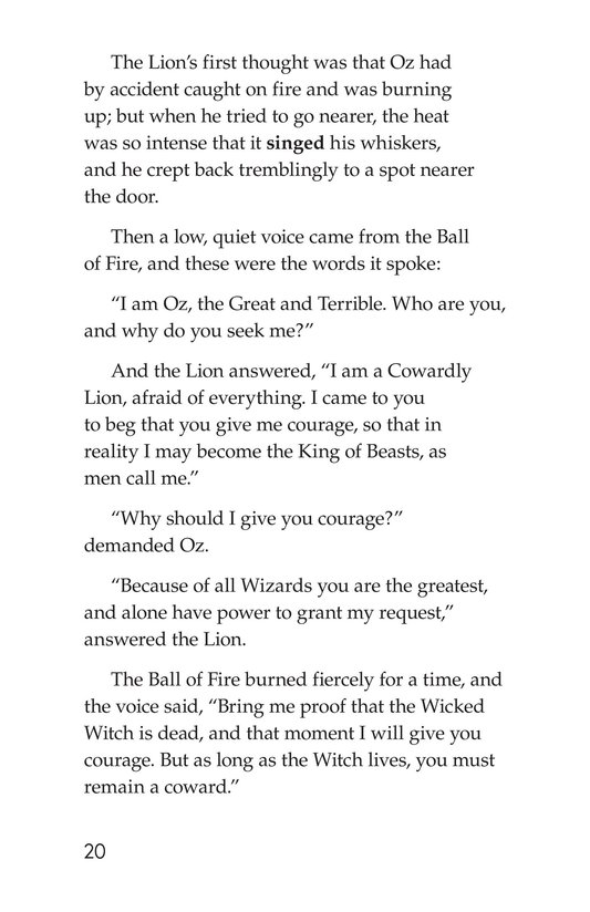 Book Preview For The Wonderful Wizard of Oz (Part 6) Page 20