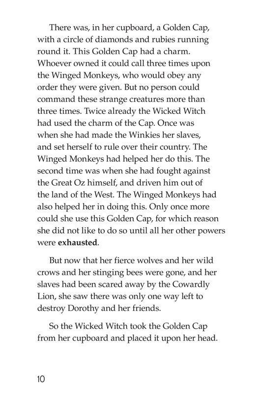 Book Preview For The Wonderful Wizard of Oz (Part 7) Page 10