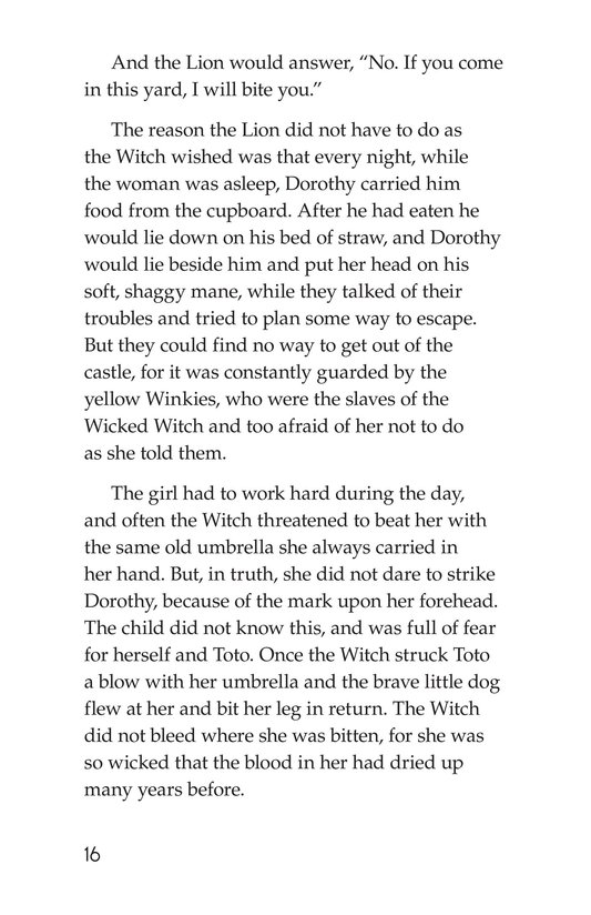 Book Preview For The Wonderful Wizard of Oz (Part 7) Page 16