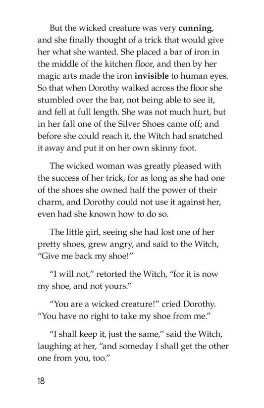 Book Preview For The Wonderful Wizard of Oz (Part 7) Page 18