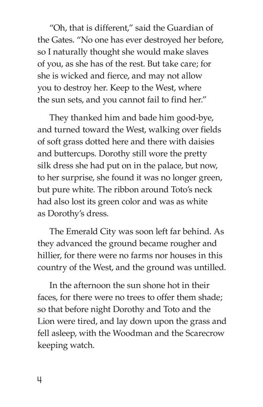Book Preview For The Wonderful Wizard of Oz (Part 7) Page 4