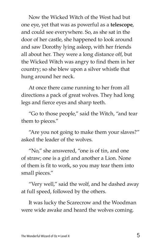 Book Preview For The Wonderful Wizard of Oz (Part 7) Page 5
