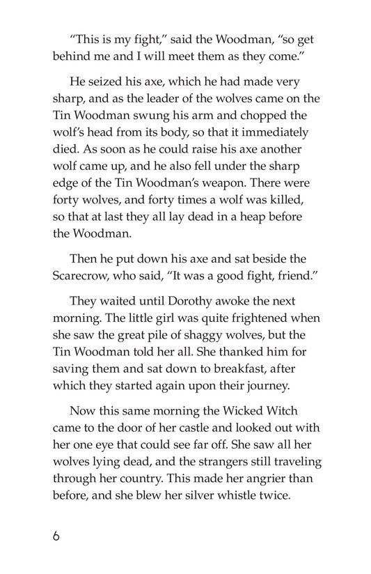 Book Preview For The Wonderful Wizard of Oz (Part 7) Page 6
