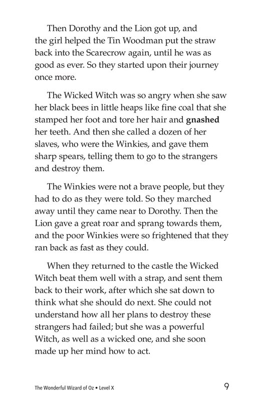 Book Preview For The Wonderful Wizard of Oz (Part 7) Page 9