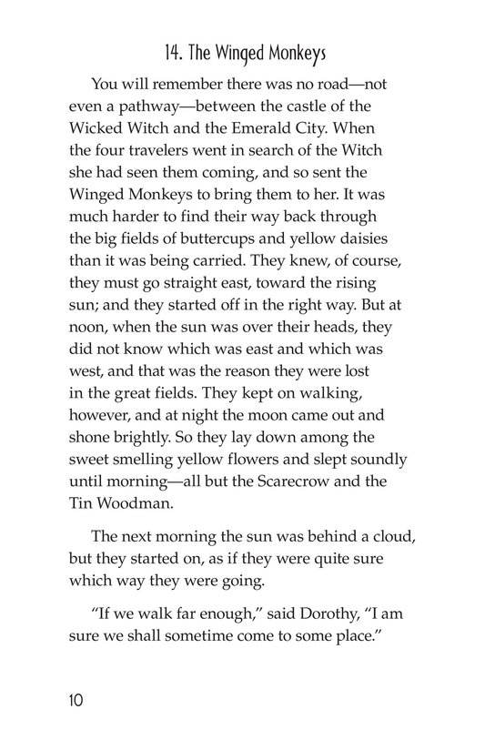 Book Preview For The Wonderful Wizard of Oz (Part 8) Page 10