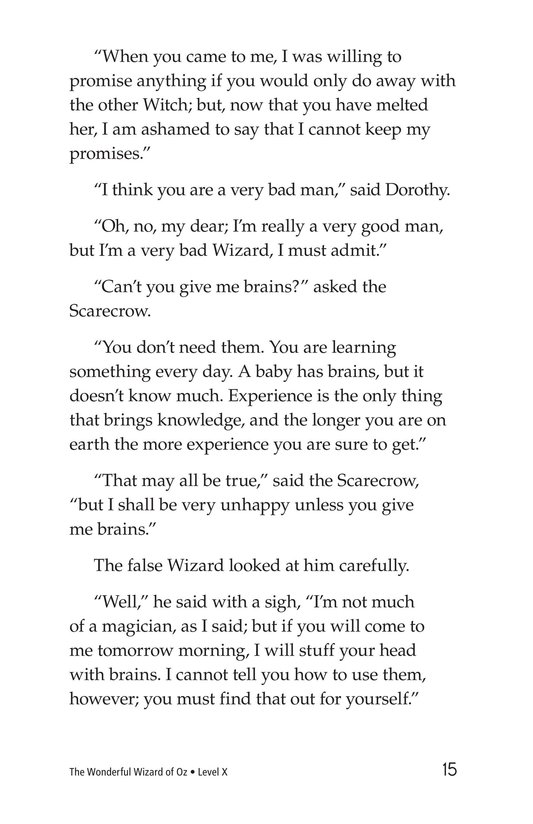 Book Preview For The Wonderful Wizard of Oz (Part 9) Page 15