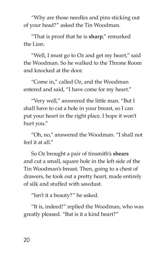 Book Preview For The Wonderful Wizard of Oz (Part 9) Page 20