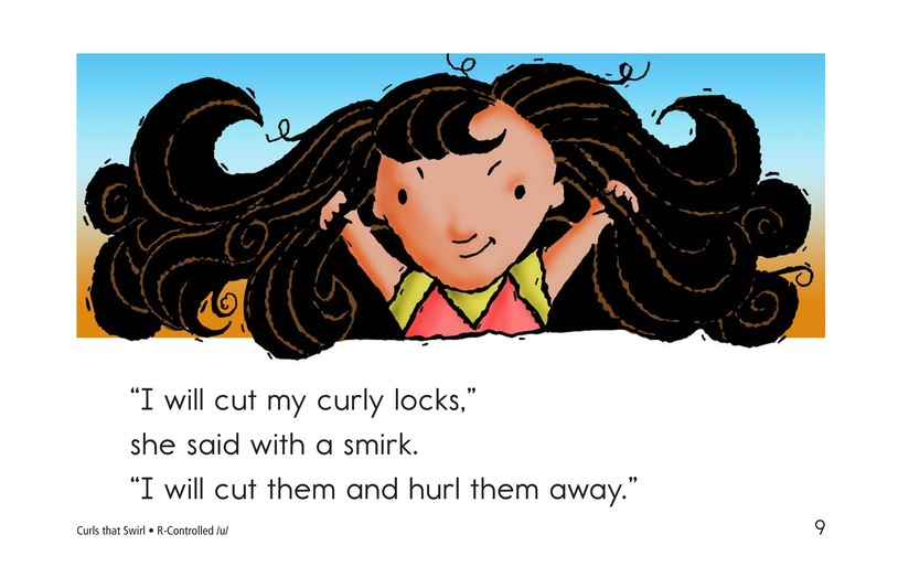Book Preview For Curls That Swirl Page 9