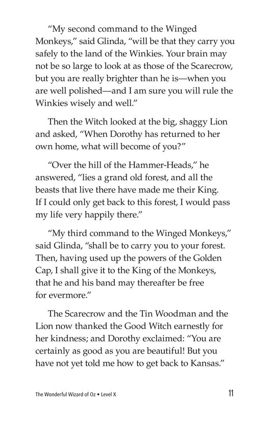 Book Preview For The Wonderful Wizard of Oz (Part 12) Page 11