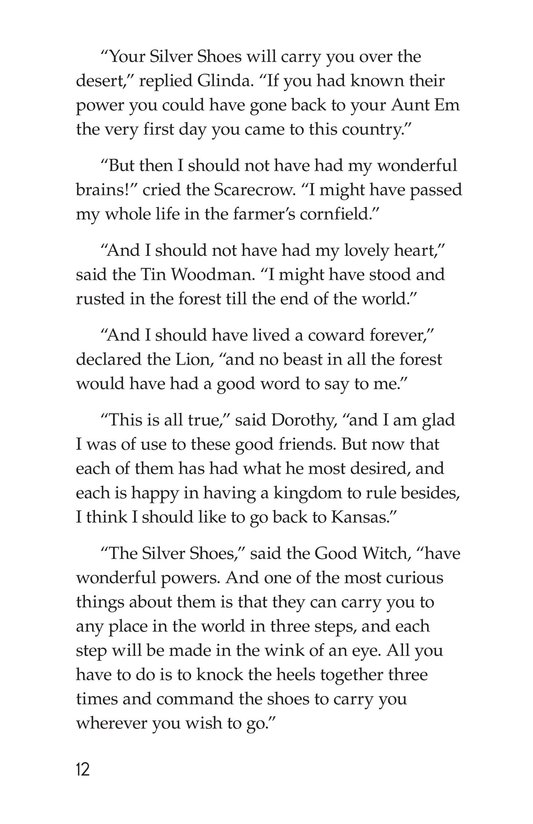 Book Preview For The Wonderful Wizard of Oz (Part 12) Page 12