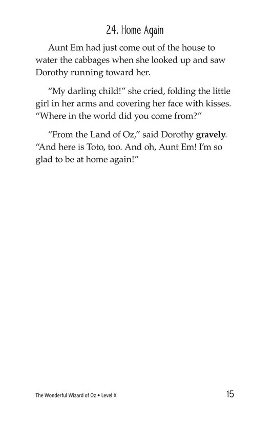 Book Preview For The Wonderful Wizard of Oz (Part 12) Page 15